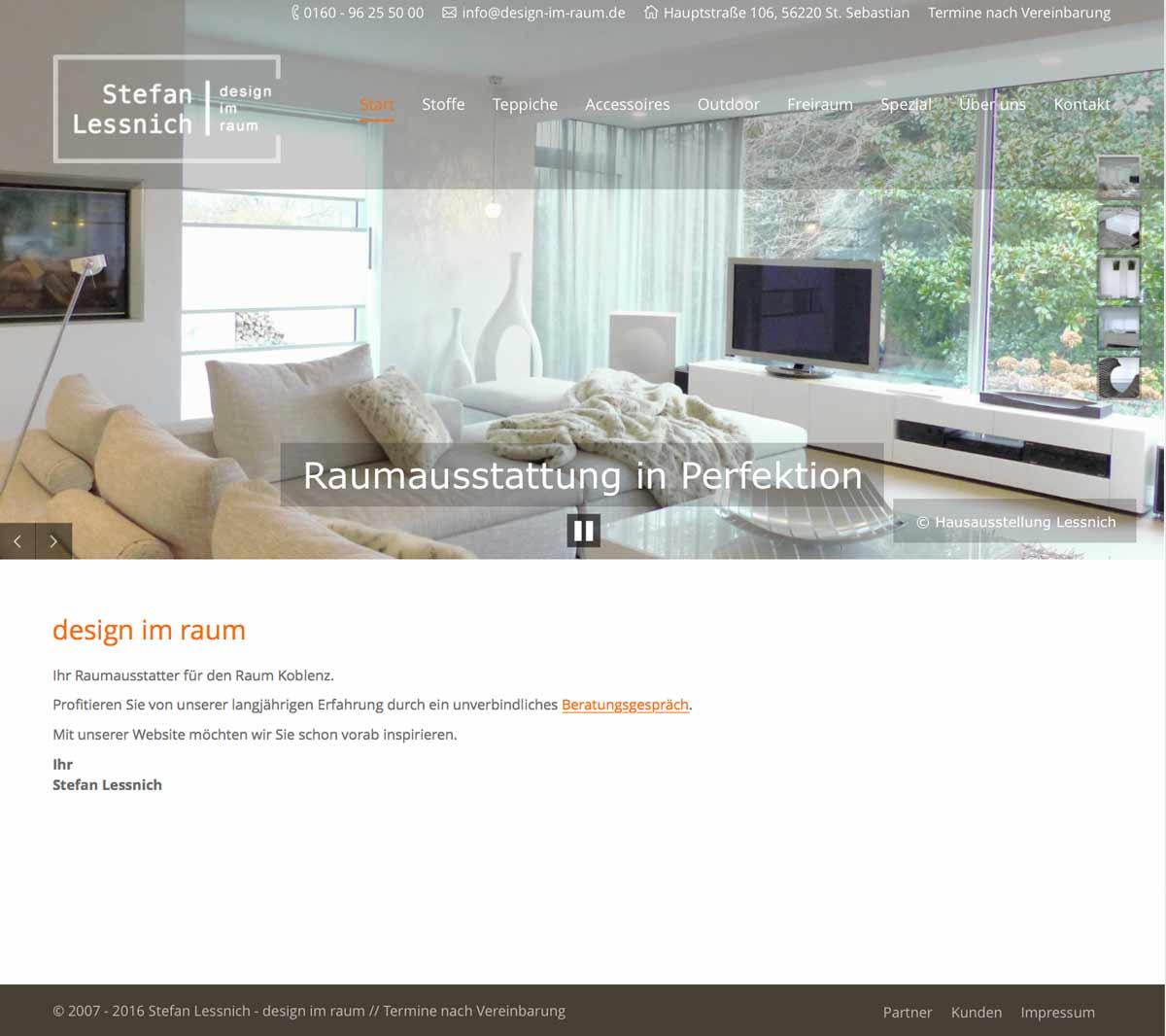 Design im Raum